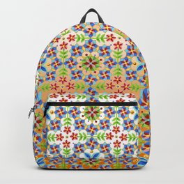Decorative Tangerine Gothic Backpack