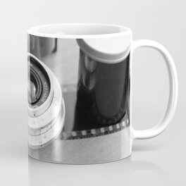 Accessories from old film cameras. Coffee Mug