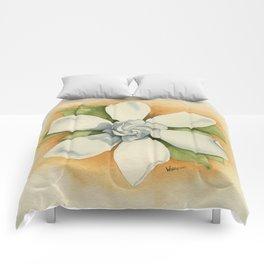 Graceful Symmetry–Watercolor Comforters