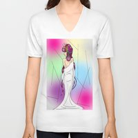 venus V-neck T-shirts featuring Venus by KeijKidz