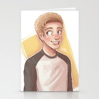 luke hemmings Stationery Cards featuring Hemmings Inspired by Cece