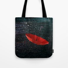 I am singing in the rain Tote Bag