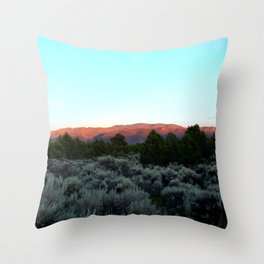 Sangre de Cristo Throw Pillow