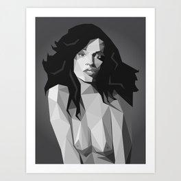 Sonia Braga III Art Print