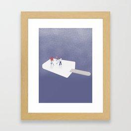 icehockey Framed Art Print