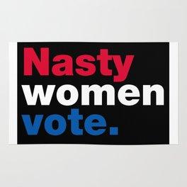 Nasty Women Vote Rug
