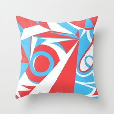 Crystal Landscape Throw Pillow