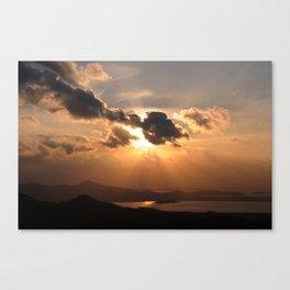 Sunset1 Canvas Print