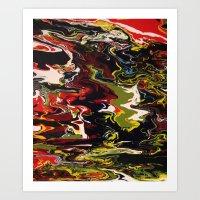 acid Art Prints featuring Acid by Jordan Luckow