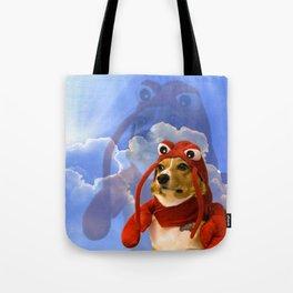 Lobster Corgi Tote Bag