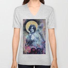 Erotic Saint #4 Unisex V-Neck
