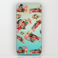 psychadelic iPhone & iPod Skins featuring cars  by mark ashkenazi