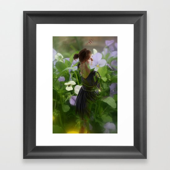 Flower Fairies Framed Art Print