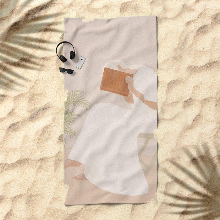 Lost Inside Beach Towel