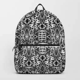 bw texture 10 Backpack