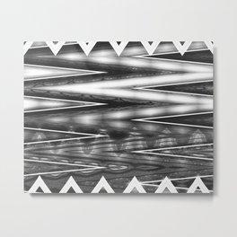 Zag Metal Print