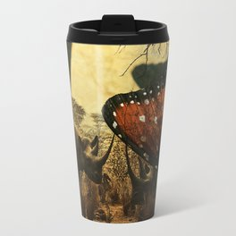 Diorama :: Rhinos Travel Mug