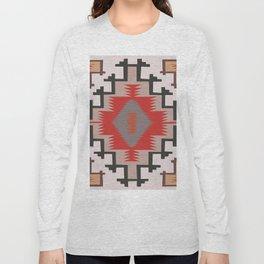 American Native Pattern No. 144 Long Sleeve T-shirt