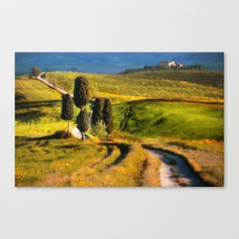 Postards from Italy - Toscany Canvas Print