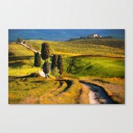 Postards from Italy - Toscany Canvas Print