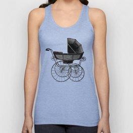 Baby carriage Unisex Tank Top
