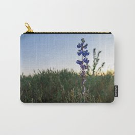 Purple Flowers - Nature Photography Carry-All Pouch