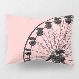 Ferris Wheel (Pink) Pillow Sham