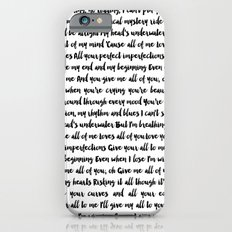 All of me song iPhone 6s Slim Case