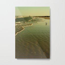 Padre Island Beach, Texas Metal Print