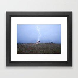 Send Nudes Framed Art Print
