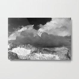 Clouds - White Pass, Kings River Canyon Metal Print