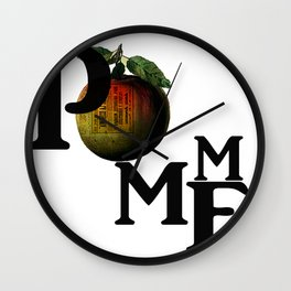 Pomme Wall Clock