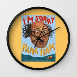Rum Ham Wall Clock