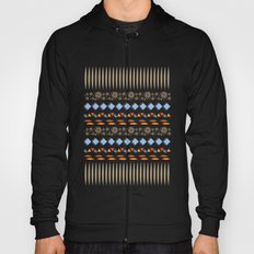 Day of the Dead Tribal Repeat Hoody