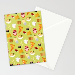 Lay Off Me I'm Starving Stationery Cards