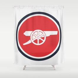 Gunners Shower Curtain
