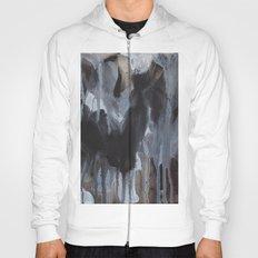 Abstract Black Hoody