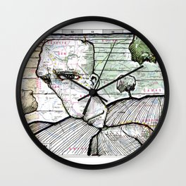 Boise, Idaho Wall Clock