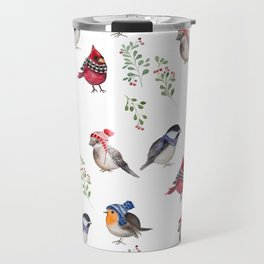 Birds of a Christmas feather Travel Mug