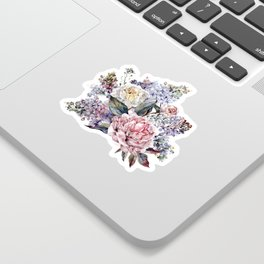 Watercolor Bouquet Sticker