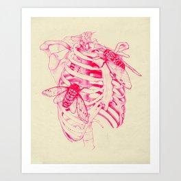 collarbone Art Print