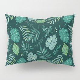 Leafy Palms Pillow Sham