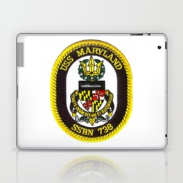 USS MARYLAND (SSBN-738) PATCH Laptop & iPad Skin
