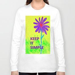 Wildflower Keep It Simple Long Sleeve T-shirt