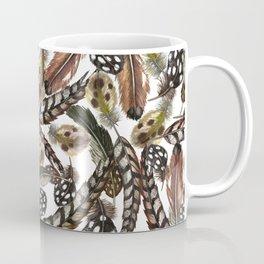 Wild birds' feathers. Coffee Mug