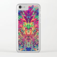 Virtual Intelligence Clear iPhone Case
