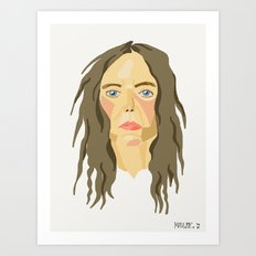 patti smith. Art Print