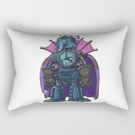 Robot Time Master Rectangular Pillow