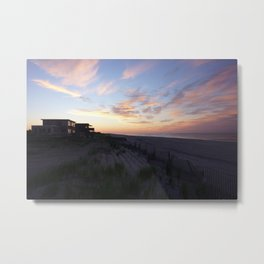 Fire Island Sunset Metal Print
