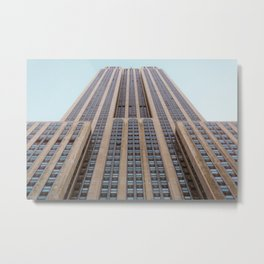 The Empire State Building Metal Print